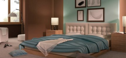 4 colors that will give you relaxation - bedroom