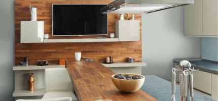 How to arrange a kitchenette? Trends of 2014