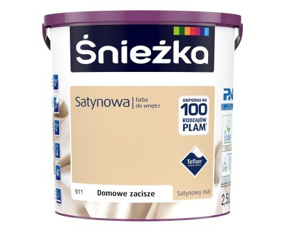 Sniezka Satynowa Satin paint for interiors