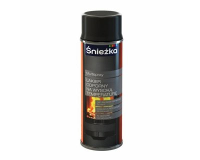 Multispray varnish resistant to high temperatures Varnish for stoves, exhaustion pipes and grills