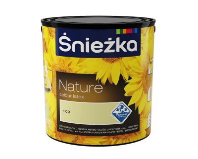 Sniezka Nature Matt latex paint for interiors