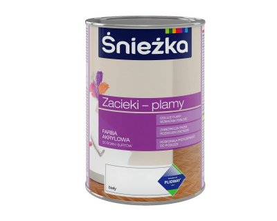 Sniezka to cover stains Acrylic paint for walls and ceilings
