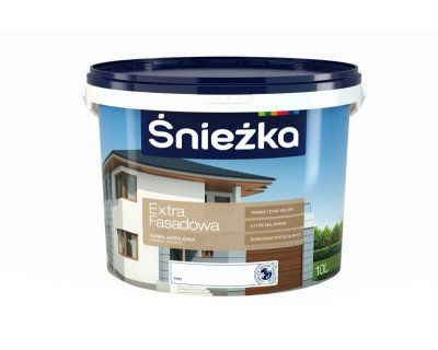 Sniezka Extra Fasadowa Acrylic paint for facades and elevations