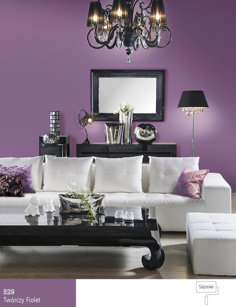 The choice of paint colors for dark furniture  Śnieżka   -> Kolor Kuchni Do Jasnych Mebli