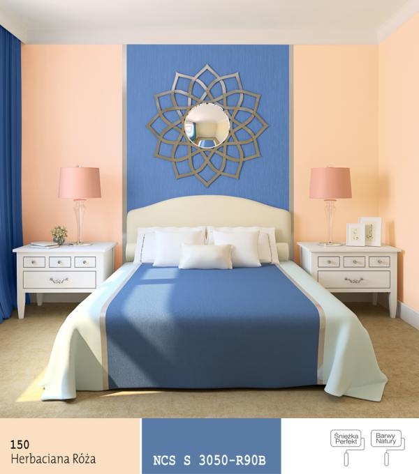 What kind of paint colour would match the blue colour - What type of paint to use in bedroom ...