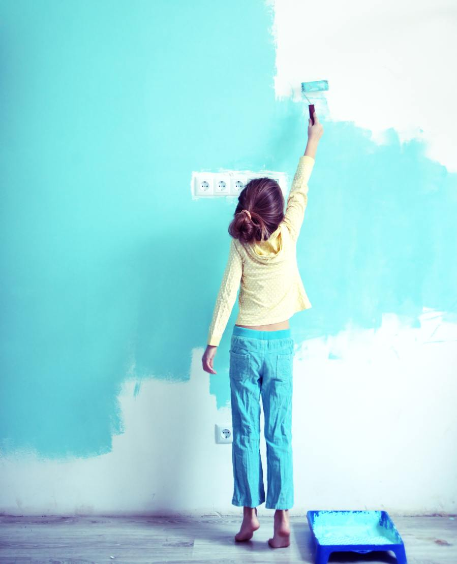How to decrease costs of wall painting 5 tips which allow us to